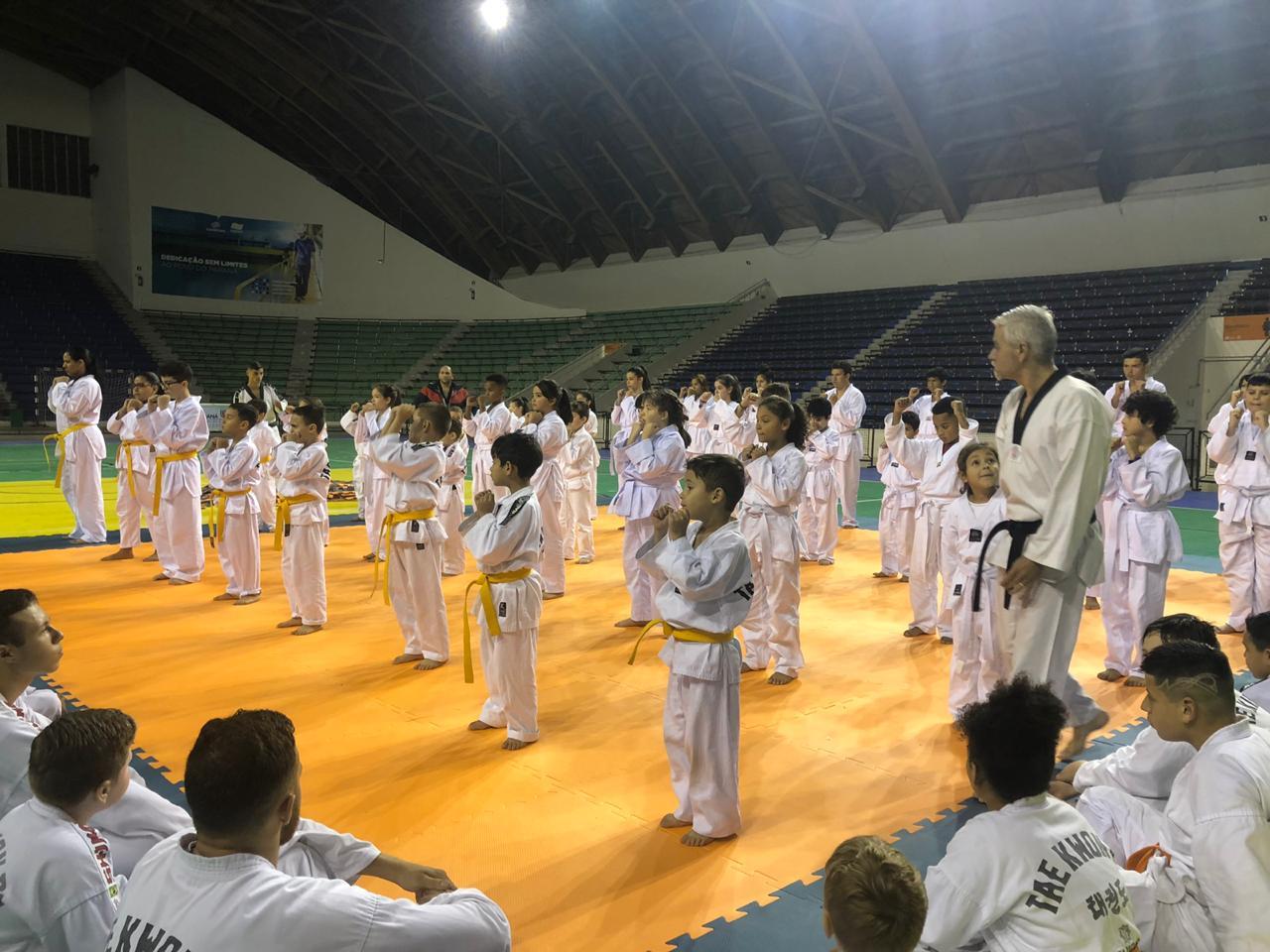 Open de Taekwondo movimenta o fim de semana no Ginásio Tarumã