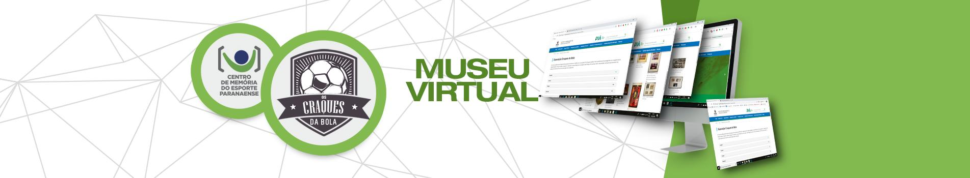 MUSEU VIRTUAL - Banner superior